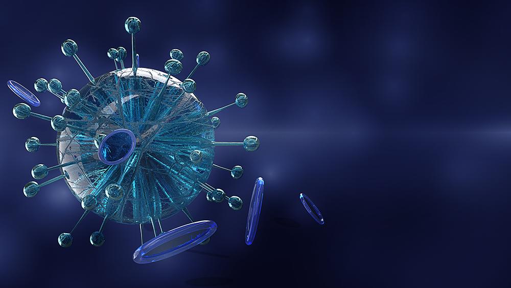 molécula de coronavírus