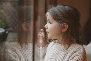 criança com transtorno de ansiedade